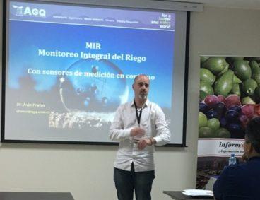 AGQ Labs presenta el monitoreo integral del riego
