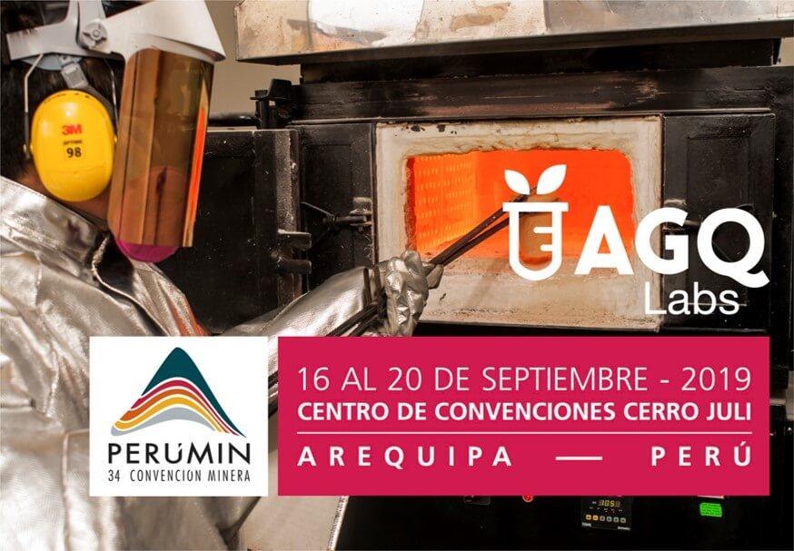 AGQ Labs en la edición 34 de Perumin 2019