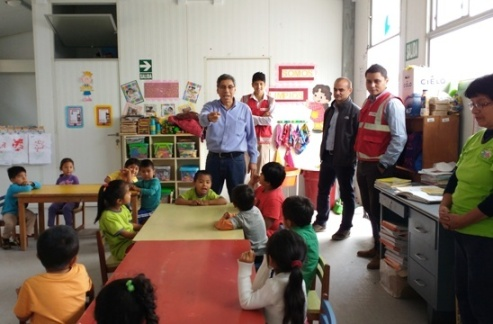 AGQ Labs en institucion infantil