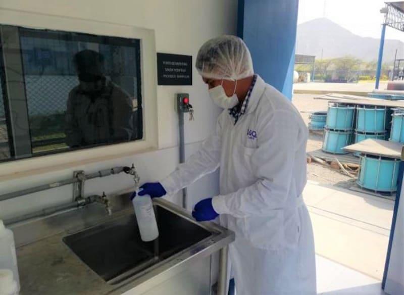 Analisis Hidrobiologicos y Muestreo en Agua Potable