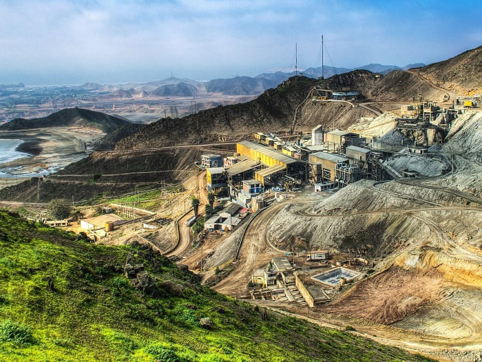 Analisis de relaves mineros minera condestable