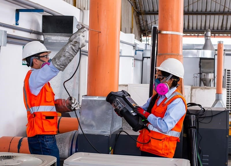 Calidad ambiental en instalaciones industriales