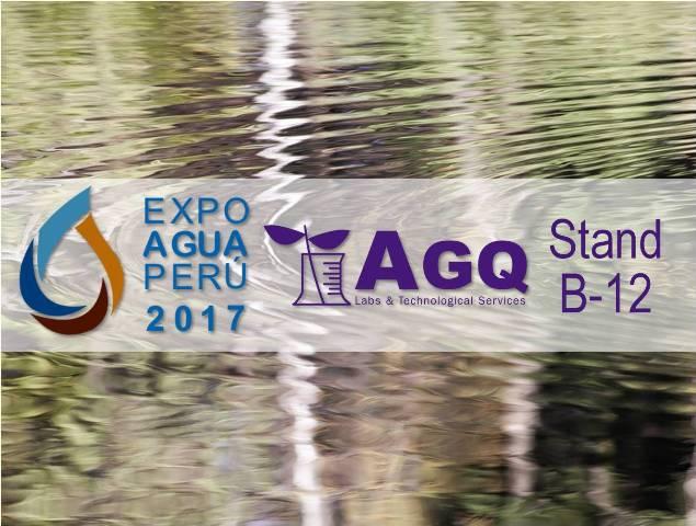 AGQ Labs estará en ExpoAgua Perú 2017