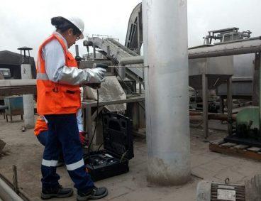 Determinación de material particulado y emisiones gaseosas