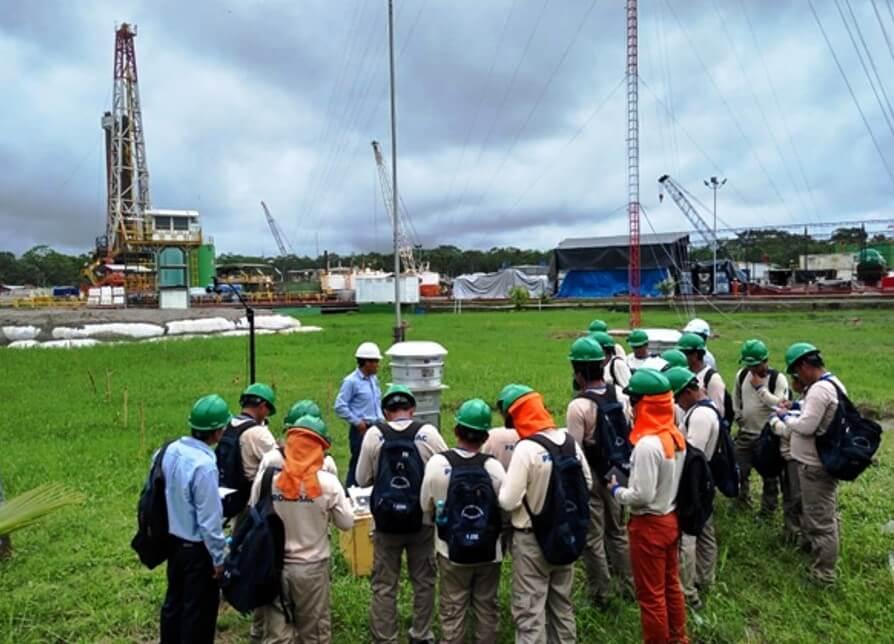 Monitoreo ambiental en el sector hidrocarburos
