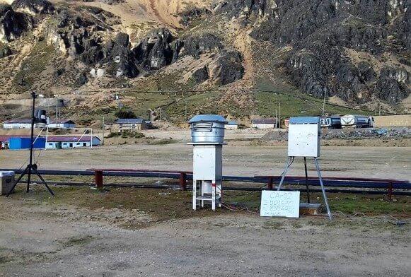 Monitoreo ambiental para explotaciones mineras