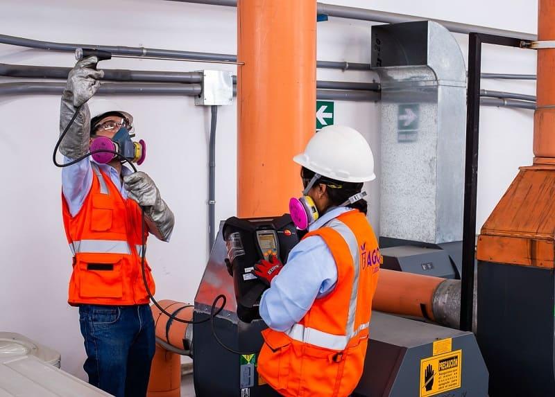 Monitoreo de emisiones gaseosas en Perú