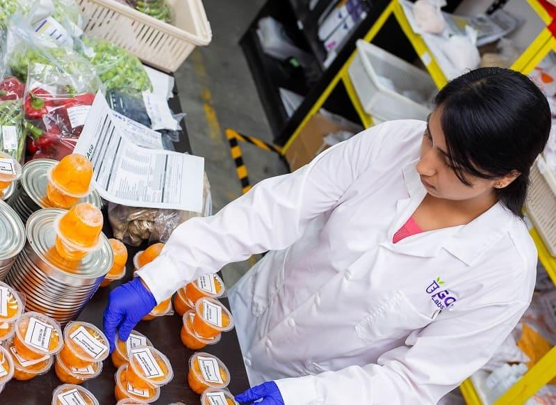 Muestreo alimentario en Peru