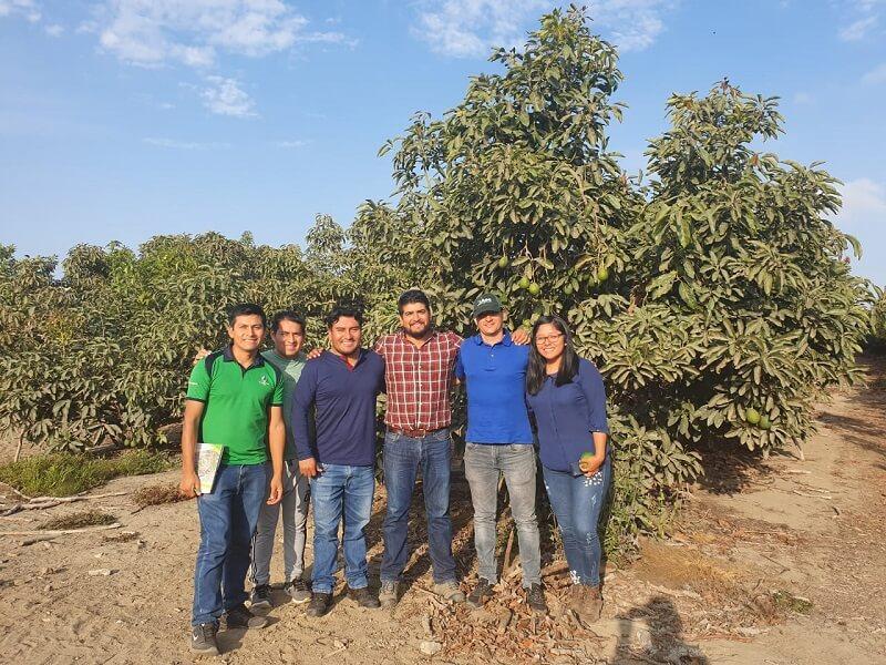 Visitas agronomicas a cultivos del Peru