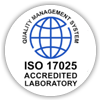 Salud y Seguridad de AGQ Labs Chile: logo de ISO 17025