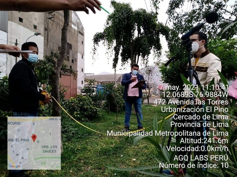 analisis de ruido ambiental en Peru
