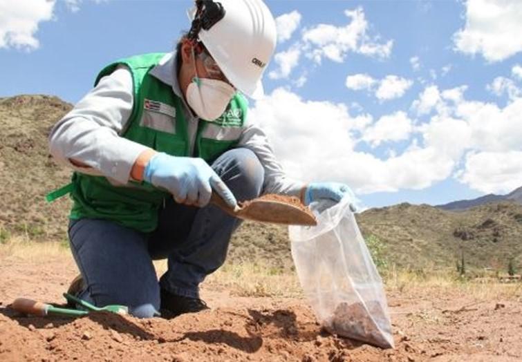 analisis de suelos ambientales en Peru
