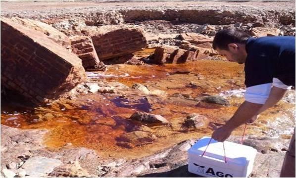ensayos geoquimicos ambientales