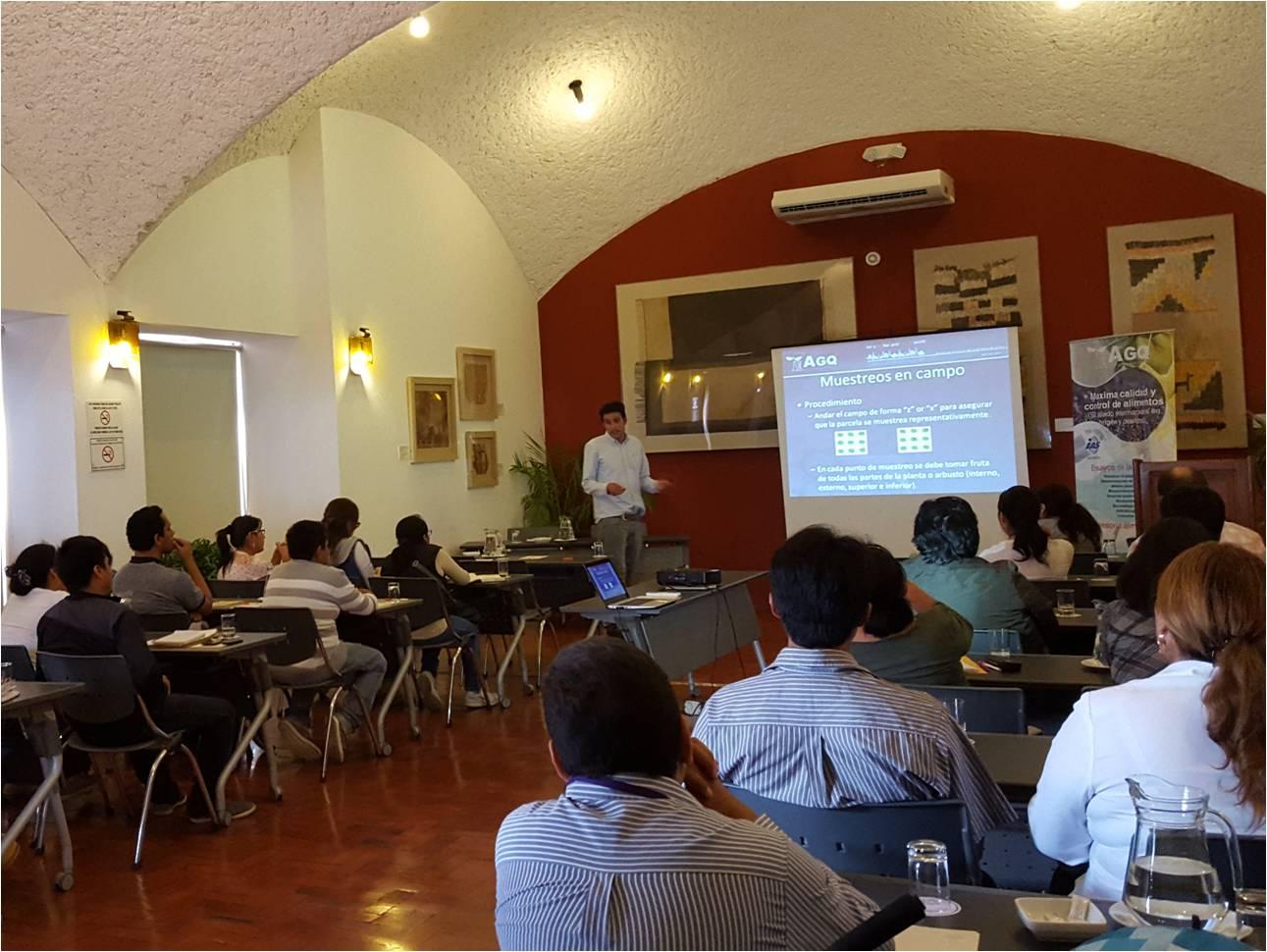 Jornadas técnicas sobre la Ley FSMA organizadas por AGQ Labs Perú