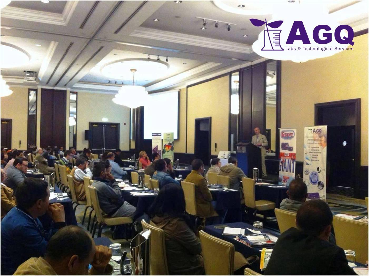 Éxito del Seminario Internacional del Arándano en Perú - AGQ Labs Perú